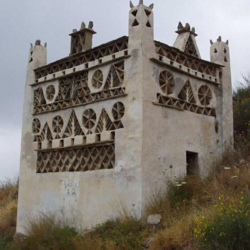 old stone dovecote in Tinos